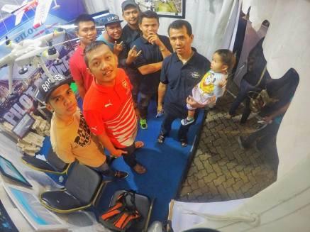 pameran video dan photo aerial taman raja ali haji