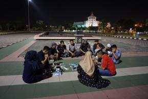 sharing session di islamic center pekanbaru