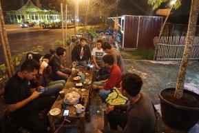 kumpul bual bual tentang regulasi di bual bual cafe bandar serai pekanbaru