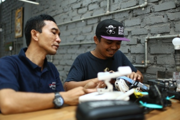 berbagi ilmu drone race